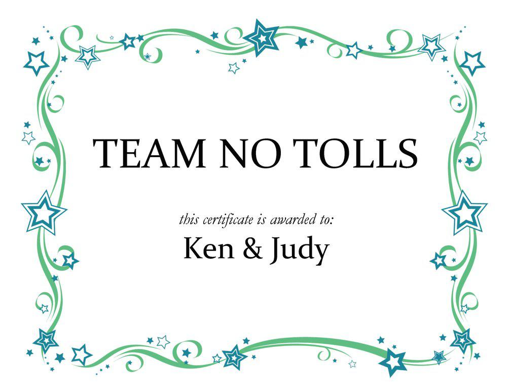 Although avoiding tolls completely is nearly impossible, trip planning to cut back on costs is possible. Careful route planning and time management is crucial to successful expedite trucking. Ken & Judy are one of Tempus Transport's most successful teams at avoiding high toll routes!