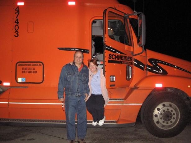 MRW MTW Schneider Truck