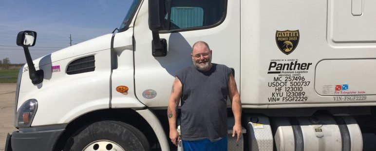 Straight-truck driver earns over $2,000 for the week!