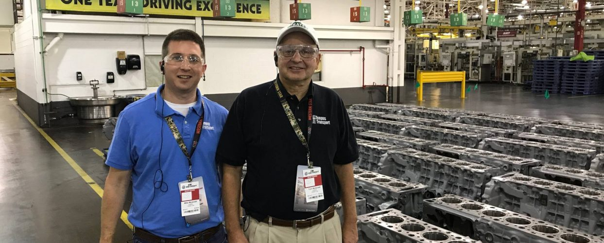 Touring the Detroit Plant and driving Western Stars in Michigan